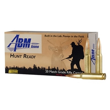 Picture of Abm Hunt Ready 308 Win 168Gr Berger Match Classic Hunter