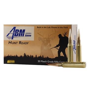 Picture of Abm Hunt Ready 338 Lapua 300Gr Berger Match Elite Hunter
