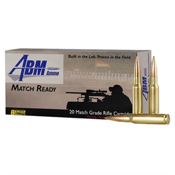 Picture of Abm Match Ready 308 Win 155.5Gr Berger Match Fullbore Target