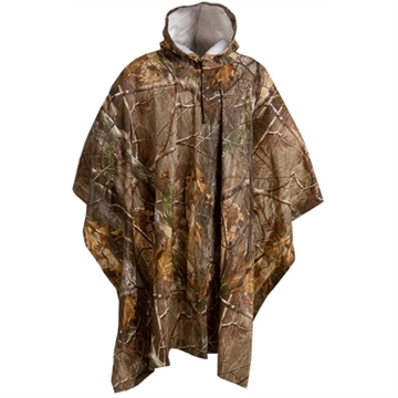 Picture of Absolute Outdoors Adult Pvc Poncho Rltree AP
