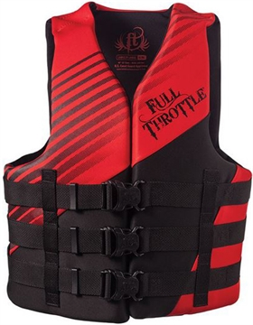 Picture of Absolute Outdoors Adult Rapid-Dry Vest Red L/Xl