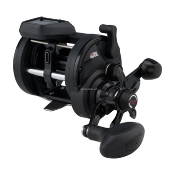 Picture of Abu Garcia Altum Conventional Reel, Digital Line Counter,20 Size, 17Lb/430Yds Mono, 4.7:1 Ratio, 17Lb Drag, 2 Brg, LH
