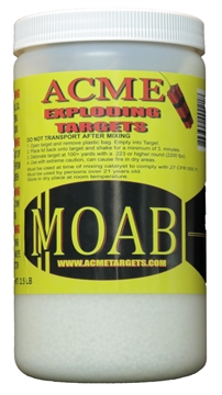 Picture of Acme Exploding Targets Moab Exploding Target 2.5Lb