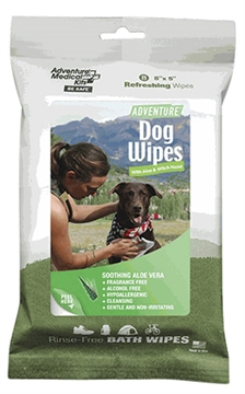 "Picture of Adventure Medical Kits 01700308 Adventure Dog Wipes White 8""X8"" 8Pk"
