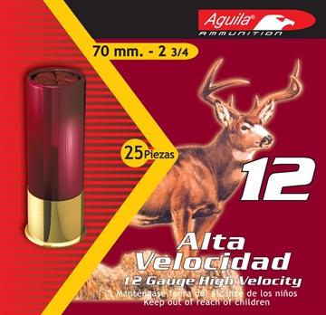 "Picture of Aguila 12 Gauge High Velocity Shotshells, 2-3/4"", No. 7 1/2 Bird Shot, 1330 Fps, 1 1/4 Oz, 25 Rnd"