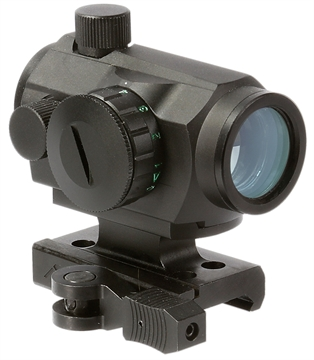 Picture of Aim Sports  Dual Illuminated Quick Detach 1X 20Mm Obj 4 Moa Dual Illuminated Red/Green Dot Black