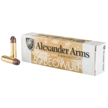 Picture of Alexander Arms 50Beo 200Gr Arx Polycase 20/1