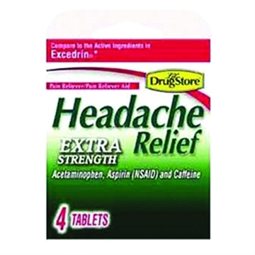 Picture of Alka-Seltzer Analgesic Headache Releif 4Ct Compare TO Excedrin
