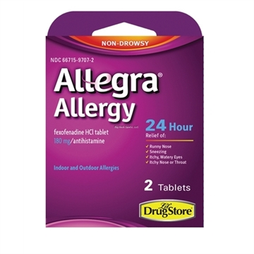 Picture of Allegra Allergy Tablets- 2 Count