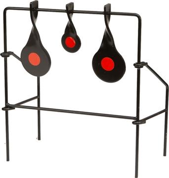 Picture of Allen .22 Metal Triple Spinner Target Black