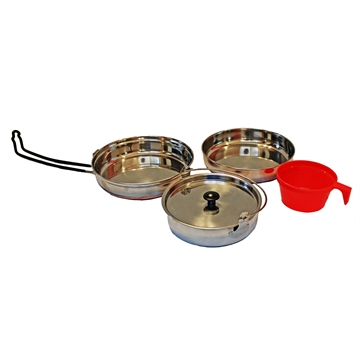 Picture of Alpine Mountain Gear Stainless Steel Mess Kit
