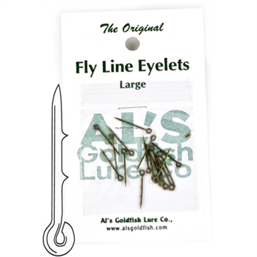 Picture of Al's Goldfish Fly Line Eyelets Large 15 PK