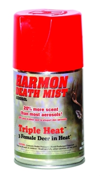 Picture of Harmon Deer Scents Aerosols Scents 6Oz Triple Heat Death Mist