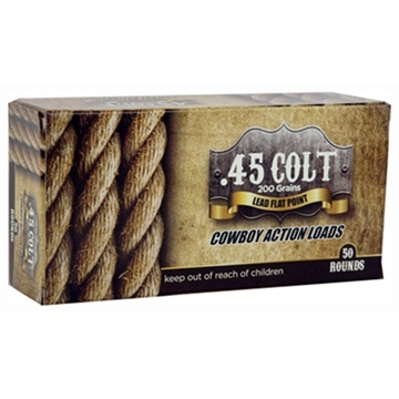 Picture of American Cowboy Ammo Cowboy .45 Long Colt 200Gr. Lead Flat-Nose 50-Pack