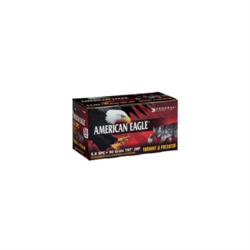 Picture of American Eagle 6.8 Spc 90 GR Jhp 50/Bx