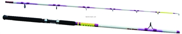 Picture of American Spirit Nite Stick Spin Rod, 8', 2 Pc, Med, 12 LB - 25 LB Line