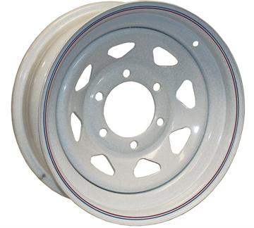Picture of American Tire & Wheel 12X4 4-4 White Spoke
