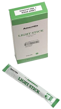 """Picture of Ameriglo 612Hg100f 6"""" 12 Hour Green Light Stick 100/Pack"""