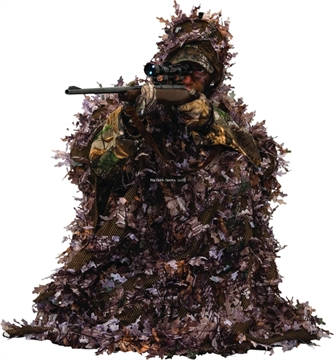 Picture of Ameristep 3-D Leafy Poncho, One Size Fits Most, Realtree Xtra Camo Pattern