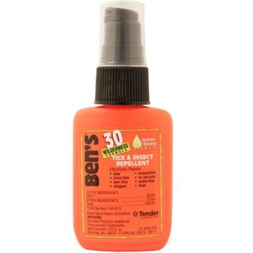Picture of Ben's Insect & Tick Repellent, 1.25Oz Pump Spray, 30% Deet