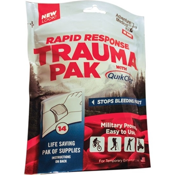 Picture of Amk Rapid Response Trauma Pack W/ Quikclot
