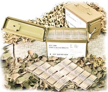 Picture of Ammo 5.56 Nato Adi 62 Grain Fmj, 900 Round Case (50 Round Case X 18 Pack) - A5569