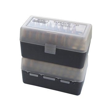 Picture of Ammo Box 50Rd Flip-Top 223 204 Ruger 6X47 Clear/Smoke