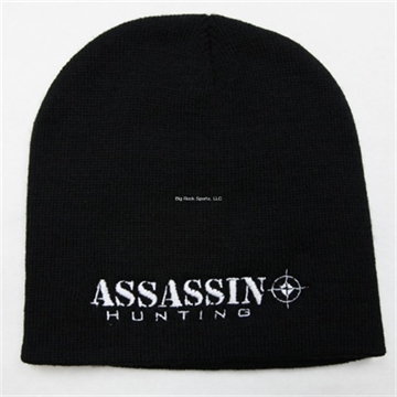 Picture of Assassin Fishing Beenie Hat Black
