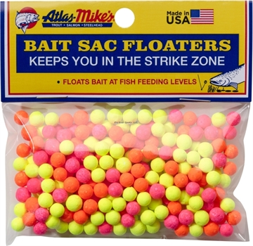 Picture of Atlas Bait Sac Floaters Assorted 300Bg