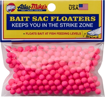 Picture of Atlas Bait Sac Floaters Pink 300Bg