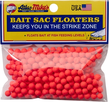 Picture of Atlas Bait Sac Floaters Red 300Bg