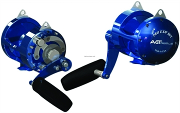 Picture of Avet EX 2-Speed Conv Reel, Rh, 6Bb, 3.8:1 Ratio, Braid 80/1120, 100/1000, Mono 50/460, 60/400, Blue