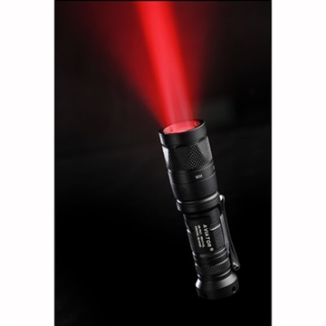 Picture of Aviator Dual Output White/Red Light 3V Black