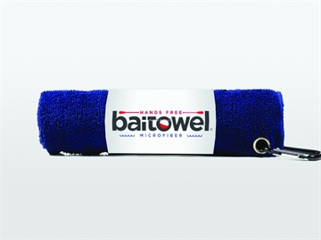 Picture of Baitowel Fishing Towel W/Clip Navy Blue