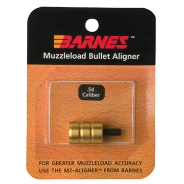 "Picture of Barnes 30708 Muzzleloader Alignment Tool .54 Cal Brass 0.75"" Long"