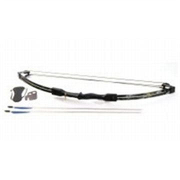Picture of Barnett Banshee Black Intermed Compound Archery Set 25Lb