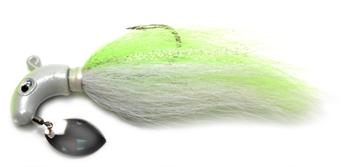 Picture of Baycoast Hyper Striper Lure With Spinner, 1 Oz, Hot Yellow