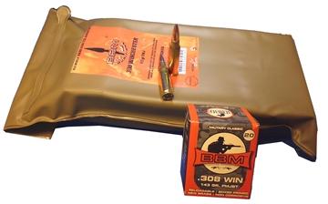 Picture of Bbm 308Fm143za Target Battlepack 308 Winchester/7.62 Nato 143 GR Full Metal Jacket Boat Tail 140 Pk/ 1 CS