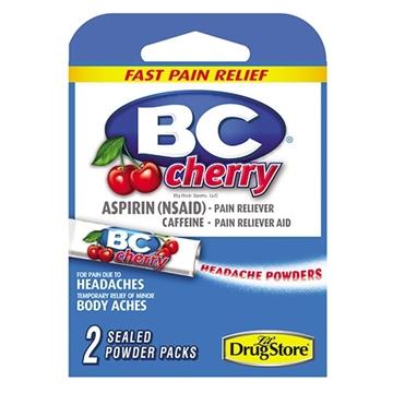 Picture of BC Aspirin Headache Powder - 2  Sealed Powder Packs