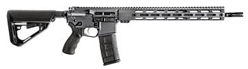 """Picture of Bci 501-0001Sg Sqs15 Professional Series Semi-Automatic 223 Remington/5.56 Nato 16"""" 30+1 6-Position Blk Stk Gray Cerakote"""