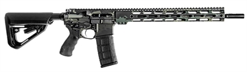 "Picture of Bci 501-001Mcb Sqs15 Professional Series Semi-Automatic 223 Remington/5.56 Nato 16"" 30+1 6-Position Blk Stk Multicam Blk/Blk"