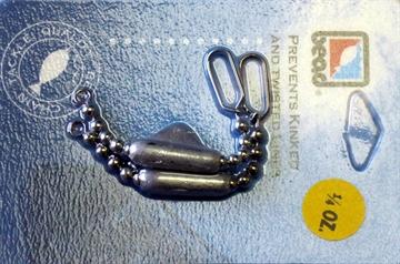 Picture of Bead Chain Bead Chain, Keel Sinker, 1/4Oz, 2Pk