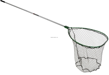 "Picture of Beckman Chinook Landing Net 32""X44"" Hoop Coated Bag 4'-7' Extendable Handle"
