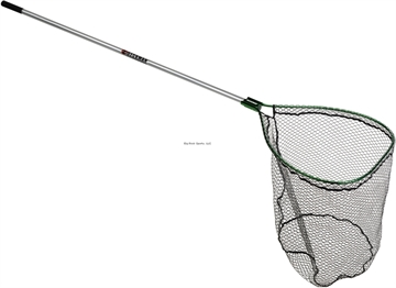 """Picture of Beckman Klamath Landing Net 26""""X34"""" Hoop Coated Bag 6' Handle"""