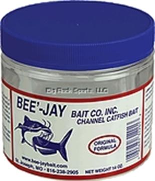 Picture of Bee'-Jay Original Cheese Catfish Dough Bait, 14Oz Jar