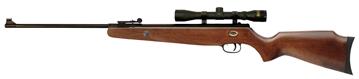 Picture of Beeman 1072 Grizzly X2 Combo Air Rifle Break Open .177/.22 Pellet Black European Hardwood Stock