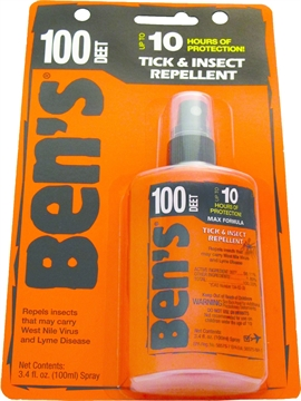 Picture of Ben's   100 Insect Repellent 100% Deet 3.4Oz Pump (Carded)