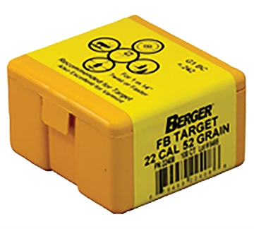 Picture of Berger 22Cal 52Gr Match Target