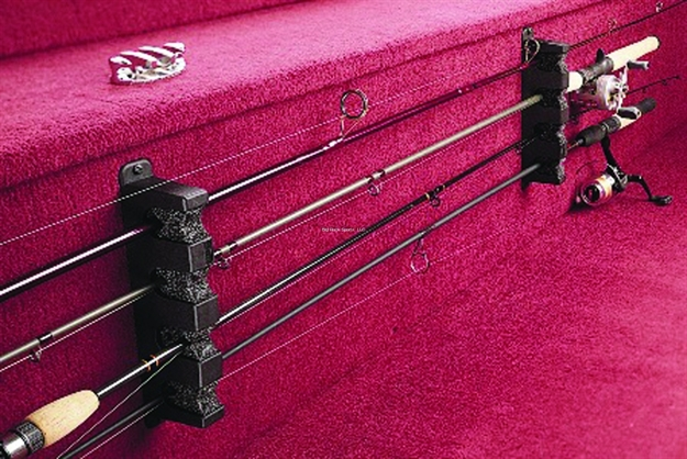 Berkley Fishing Products 4 Place Horizontal Rod Rack Black