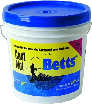 Picture of Betts Mullet Cast Net 10Ft 1In Mesh Bucket